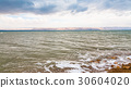 view of Dead Sea in winter morning 30604020
