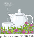 clover tea background 30604356