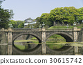 imperial palace, nijubashi, double bridge 30615742