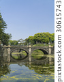 imperial palace, nijubashi, double bridge 30615743