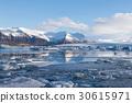 Jokulsarlon, blue ice lagoon. Iceland 30615971