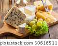 Set of different cheeses 30616511