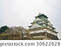 大阪的旅游景点,大阪城,日本的大阪城(日本的大阪城) 30622628