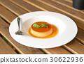 caramel, custard, pudding 30622936