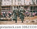 Unidentified Re-enactors Dressed As German 30623330