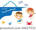ว่ายน้ำในทะเล 30627532