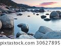海灘 岩石 海濱 30627895