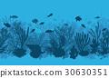 vector coral reef 30630351