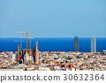 City of Barcelona Cityscape 30632364
