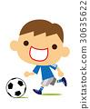 ฟุตบอล,ลูกฟุตบอล,เด็กผู้ชาย 30635622