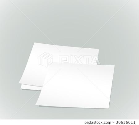white paper sheets 30636011