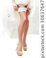 Woman legs in high heels 30637647