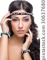 beautiful girl with accessories 30637680