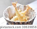 deep fried shrimp or tempura 30639856