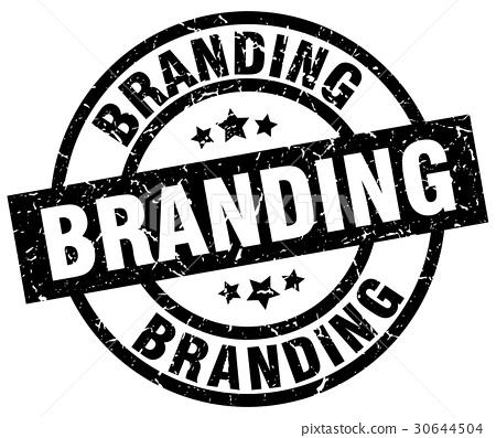 branding round grunge black stamp 30644504