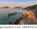 sunset in Ammouliani Island, Greece 30644923