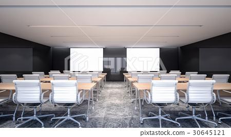 Luxury meeting room for business , 3d rendering 30645121