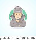 Detective, Sherlock Holmes, snoop icon 30646302