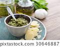 pesto, basil, green 30646887