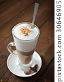 Coffee in glass cup 30646905