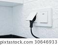 Electric plug in a socket 30646933