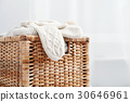 mittens, knit, wicker 30646961