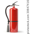 Fire extinguisher isolated on white background. 30647416