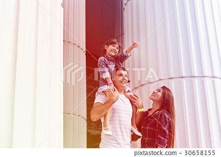 Family Holiday Vacation Gothic Architecture Arts Togetherness 30658155
