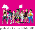 Group of students educated child development 30660901