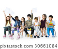 Group of students educated child development 30661084