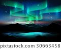 vector, star, lake 30663458