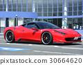 红色豪华跑车 30664620