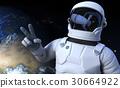 Spaceman on the orbit 30664922