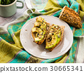 Avocado sandwich for healthy snack with seeds 30665341