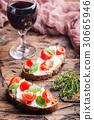 bread, food, tomato 30665946