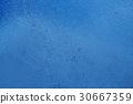 blue summer raindrops falling  30667359