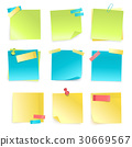 stick, note, colored 30669567