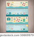 Summer holidays banner collection. Holydas and 30669979
