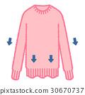 스웨터, 니트, 핑크 30670737