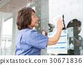 清潔工作高級女性 30671836