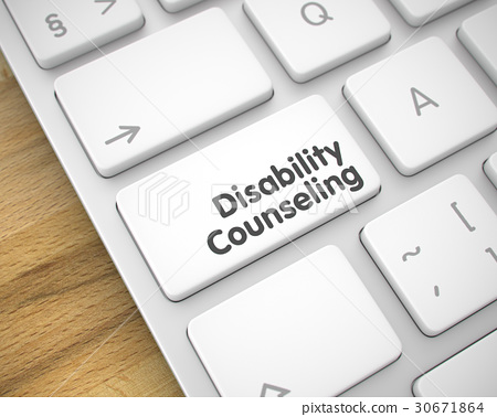 Disability Counseling - Inscription on the White 30671864