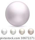 珍珠 向量 向量圖 30672271