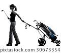 高尔夫 高尔夫球手 女人 30673354