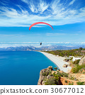 Paragliders flying in Antalya, Turkey 30677012