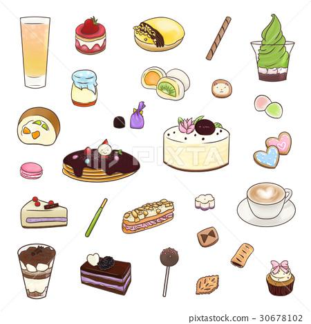 甜点 甜品 甜食 30678102
