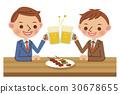 矢量 啤酒 淡啤酒 30678655