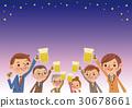 烤麵包用啤酒孔·啤酒花園形像生啤酒 30678661