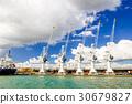 Cargo cranes in port of Antwerp in Belgium 30679827