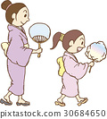 festival, yukata, parenthood 30684650