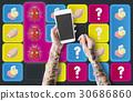 Robot Bricks Rugby Secret Question Matching 30686860